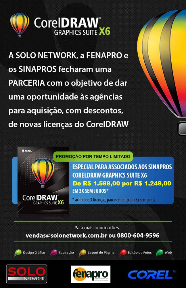 Promoção Corel Fenapro Sinapro
