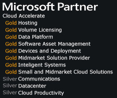 Microsoft Gold